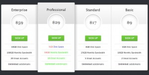 Pricing Cards Revisited with Plan Properties Screenshot
