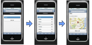 Building an HTML5 Mobile App with no App Store deployment Screen shoots